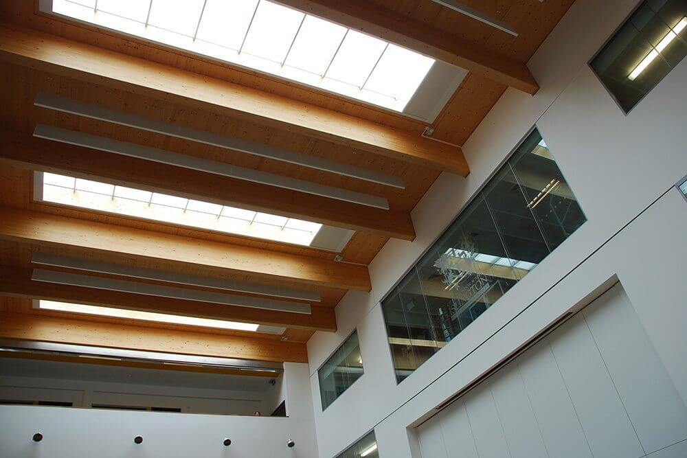 Electric Dim Out Blinds For Rooflight Windows In Schools
