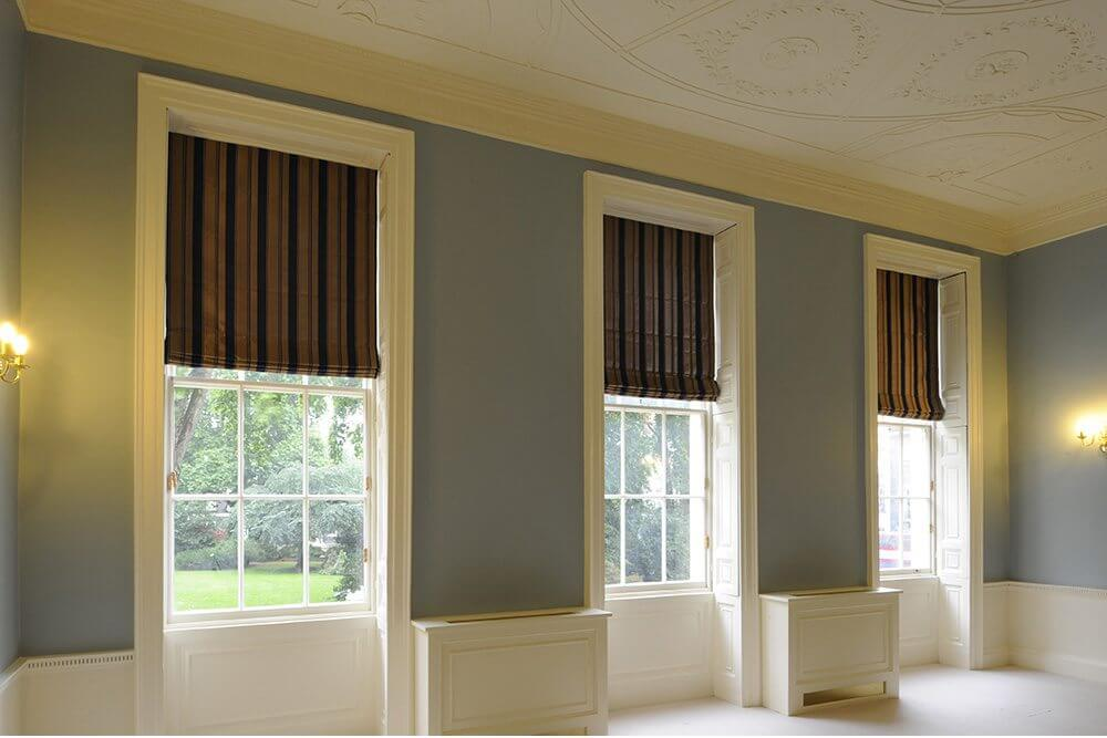 Blackout Roman Blinds For Office Spaces Waverley