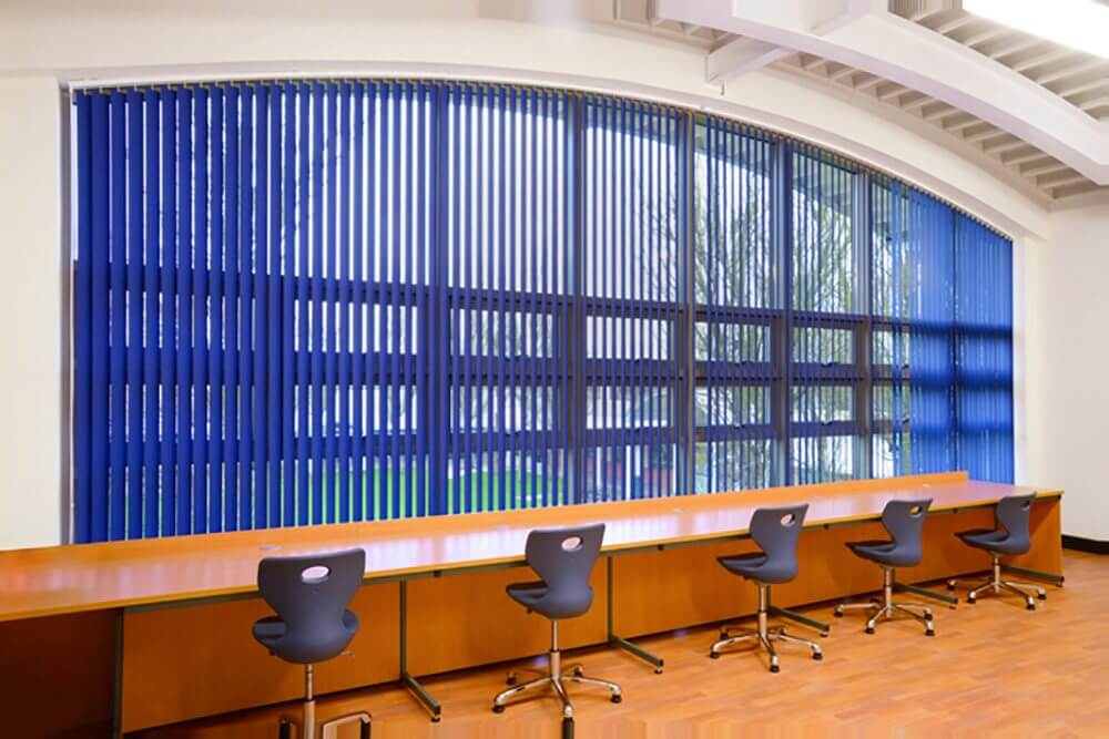 Vertical Blinds For Arched Windows In Colleges Waverley